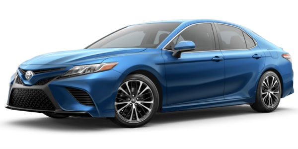 Blue Streak Metallic 2018 Toyota Camry Exterior Color