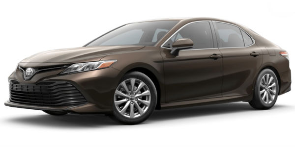 New Brownstone 2018 Toyota Camry Exterior Color
