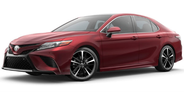 Ruby Flare Pearl 2018 Toyota Camry Exterior Color