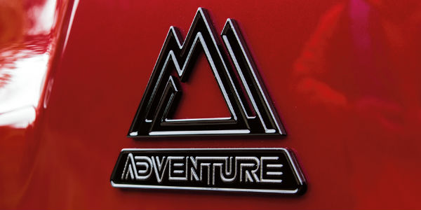 Close Up of 2018 Toyota RAV4 Adventure Exterior Badge
