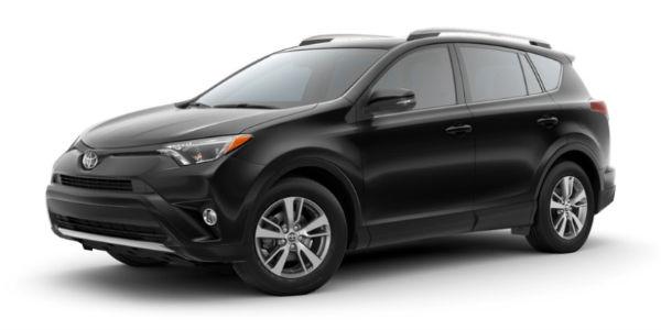 Black 2018 Toyota RAV4 Exterior