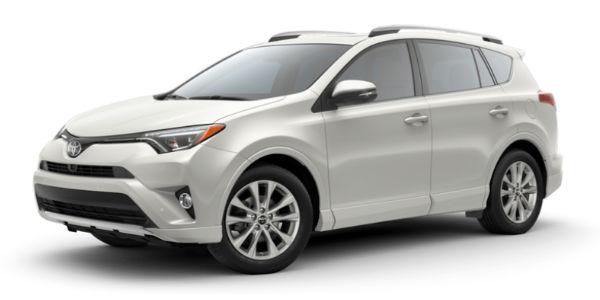 Blizzard Pearl 2018 Toyota RAV4 Exterior