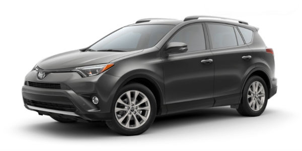 Magnetic Gray Metallic 2018 Toyota RAV4 Exterior