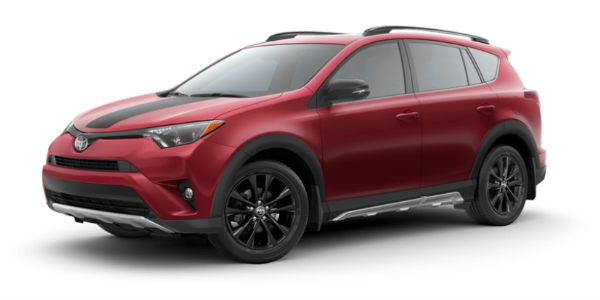 Ruby Flare Pearl 2018 Toyota RAV4 Exterior