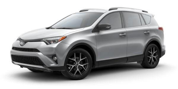 Silver Sky Metallic 2018 Toyota RAV4 Exterior