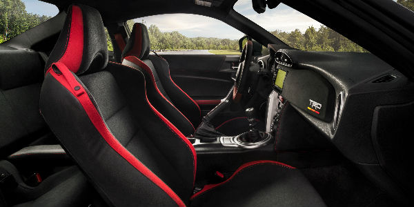 Picture of Red and Black 2019 Toyota 86 Interior