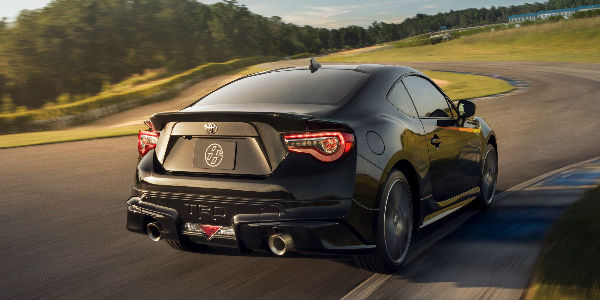 Picture of a 2019 Toyota 86 Rear Exterior on a Track