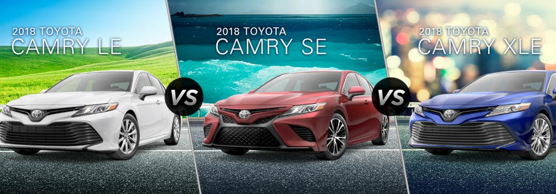 2018 camry trim levels