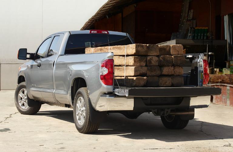 2019 Toyota Tundra hauling wood