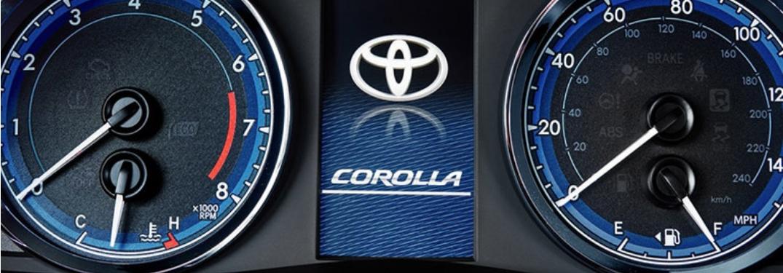 MID of 2019 Toyota Corolla