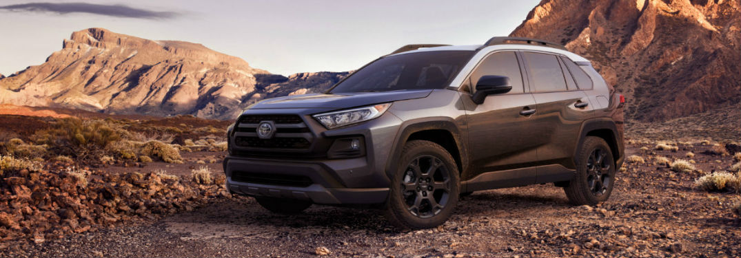 2020 Toyota RAV4 TRD side profile